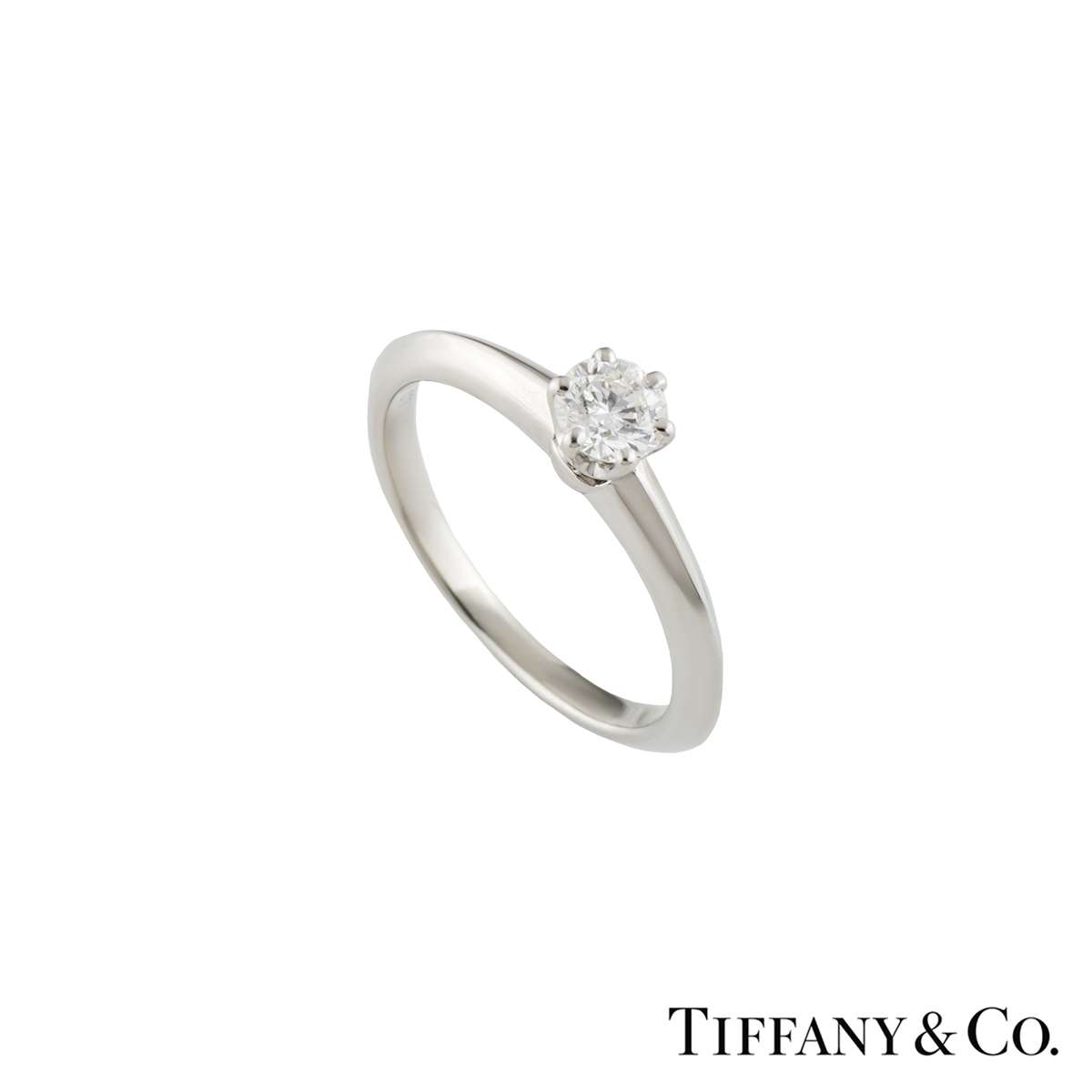 Tiffany & Co. Setting Diamond Ring 0.29ct F/VS1
